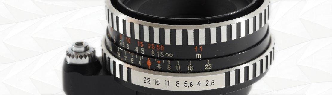 Carl Zeiss Jena - Tessar Zebra-Exa - 50mm f2.8
